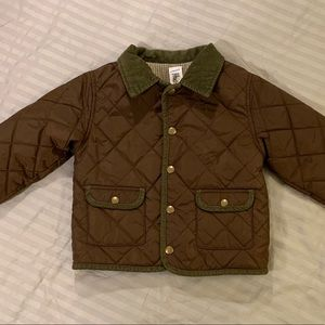 2T Gymboree quilted Barn Jacket